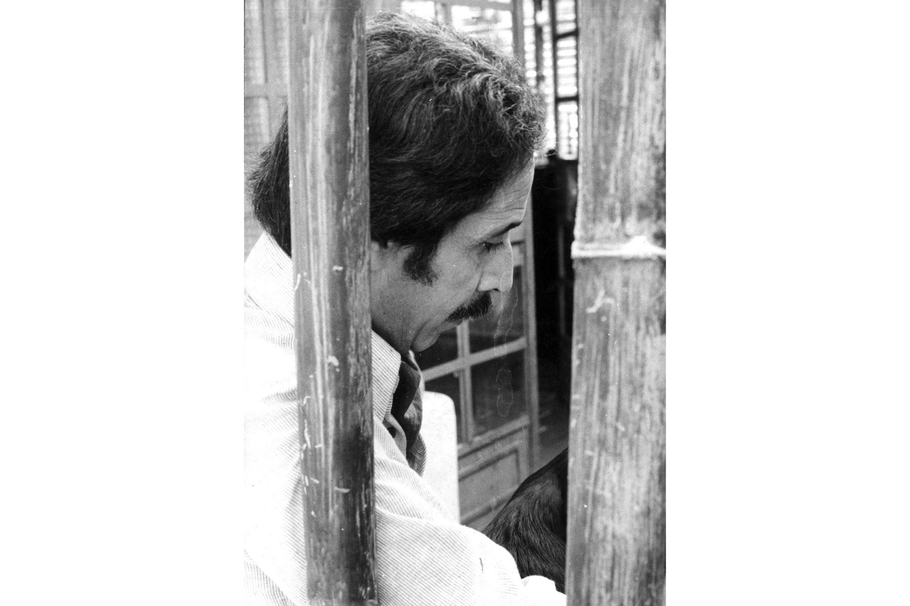 """""""La belleza, toda forma de belleza, es también una manifestación de lo sagrado"""",Jorge Eduardo Eielson. Foto:Archivo el diario el Peruano"""