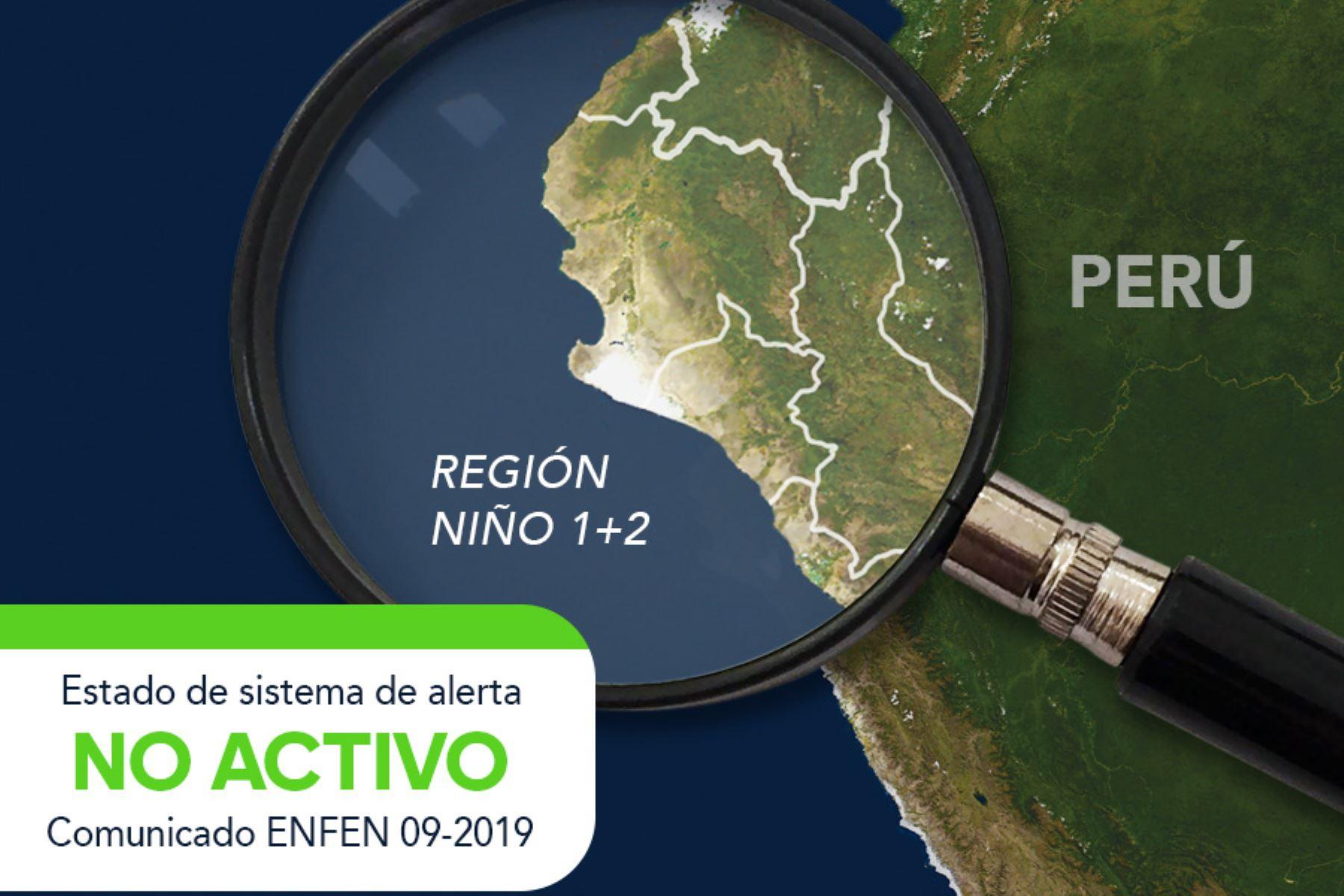 Enfen descarta evento El Niño, pero recomienda realizar labores de prevención. ANDINA/Archivo