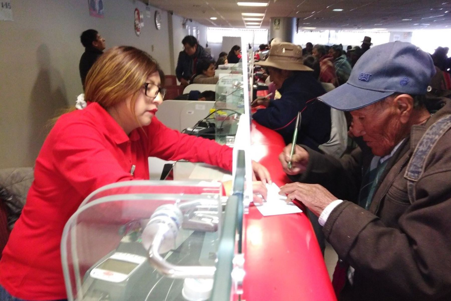 Ventanilla del Banco de la Nación (BN). Foto: ANDINA/Difusión