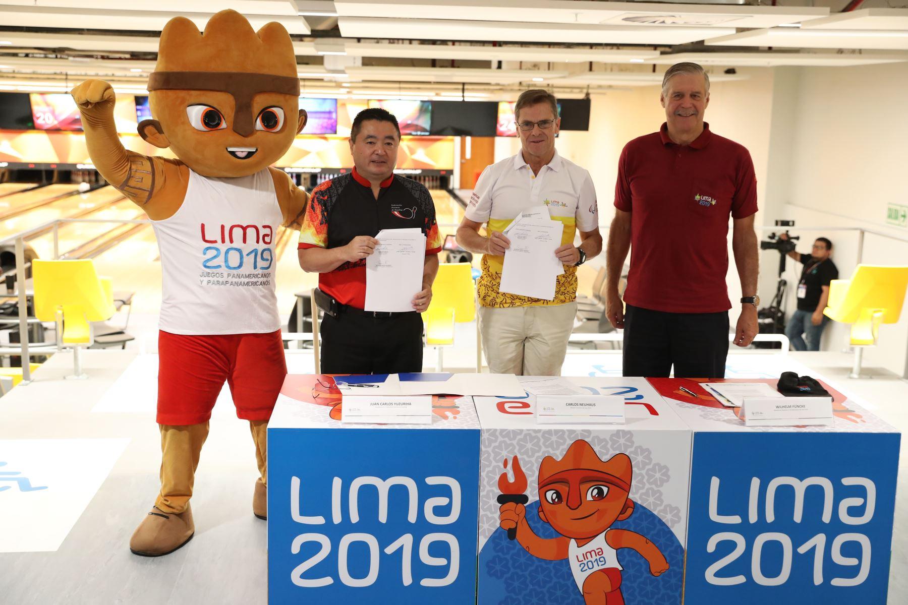 Lima 2019 cumple otro hito trascendental con la entrega del Bowling Center de la Videna a la Federación Peruana de Bowling. Foto: ANDINA/Melina Mejía