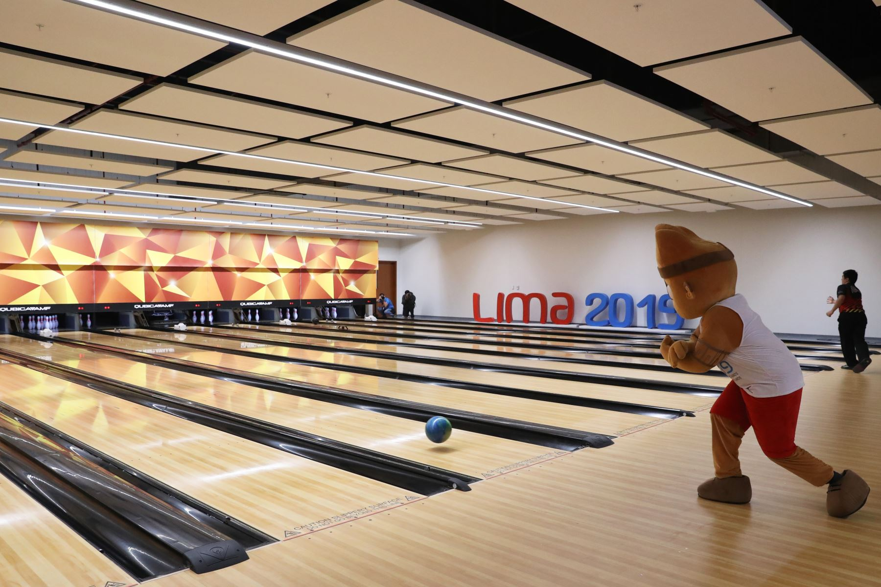 Panamericanos Lima 2019. Entrega del Bowling Center de la Videna a la Federación Peruana de Bowling. Foto: ANDINA/Melina Mejía