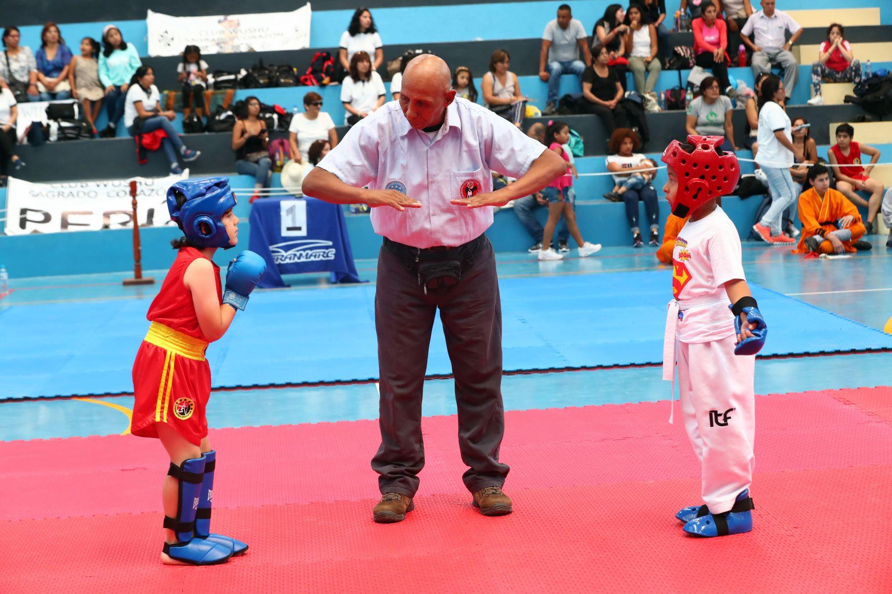 lll campeonato panamericano de artes marciales  OMAM .Foto: ANDINA/Norman Córdova