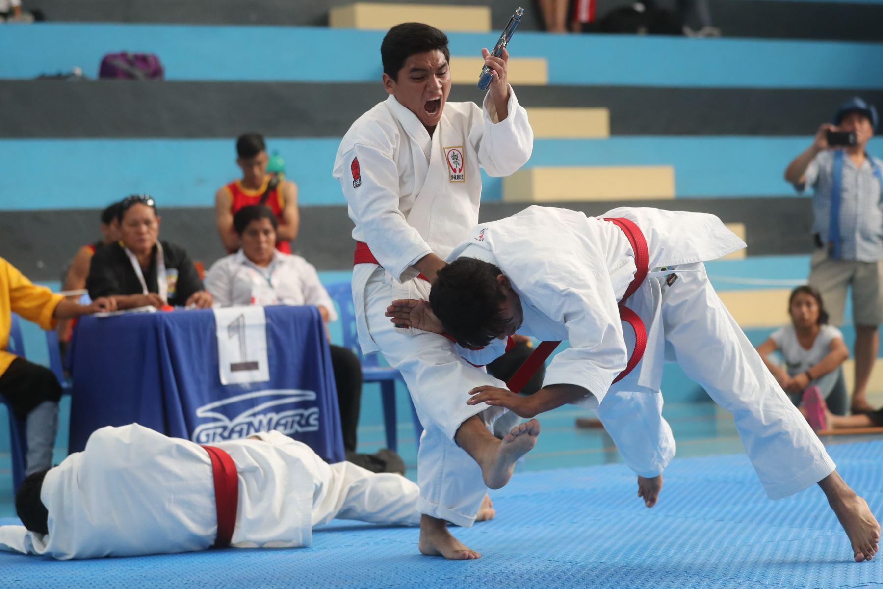 3er Campeonato Panamericano de Artes Marciales  OMAM .  Foto: ANDINA/Juan Carlos Guzmán Negrini