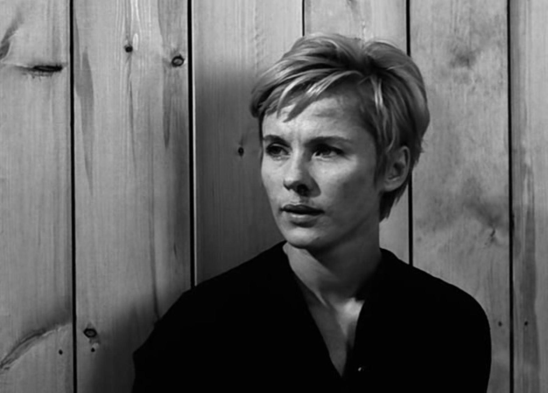 """Bibi Andersson en la película de Ingmar Bergman """"Persona"""""""
