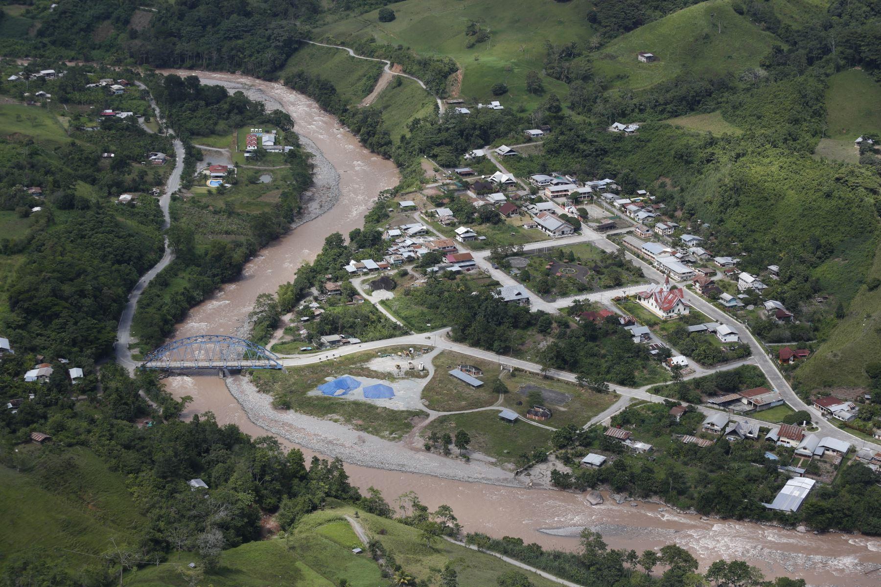Epicentro del sismo de magnitud 5.7 se ubicó cerca de la localidad de Pozuzo, en la selva de Pasco, informó el IGP. ANDINA/Prensa Presidencia