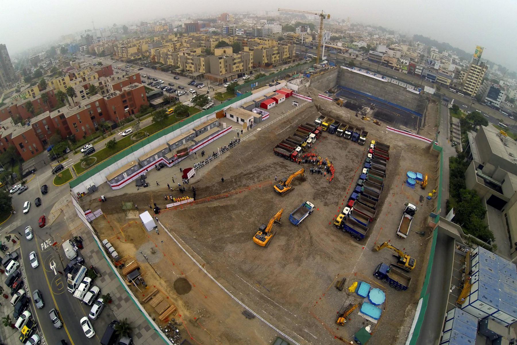El sector construcción tiene una gran capacidad para generar empleo. ANDINA/Difusión