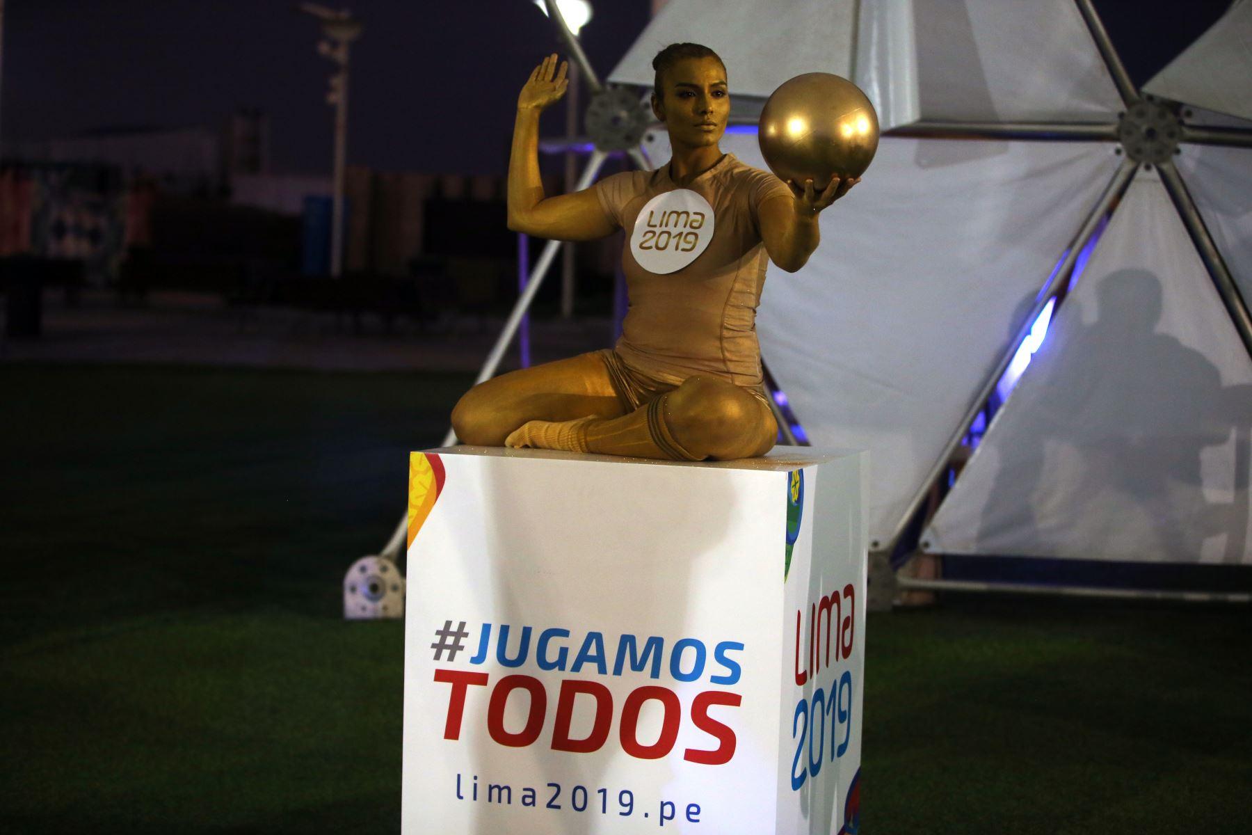 Serenata a 100 días de los juegos Lima 2019. Foto: ANDINA/Vidal Tarqui