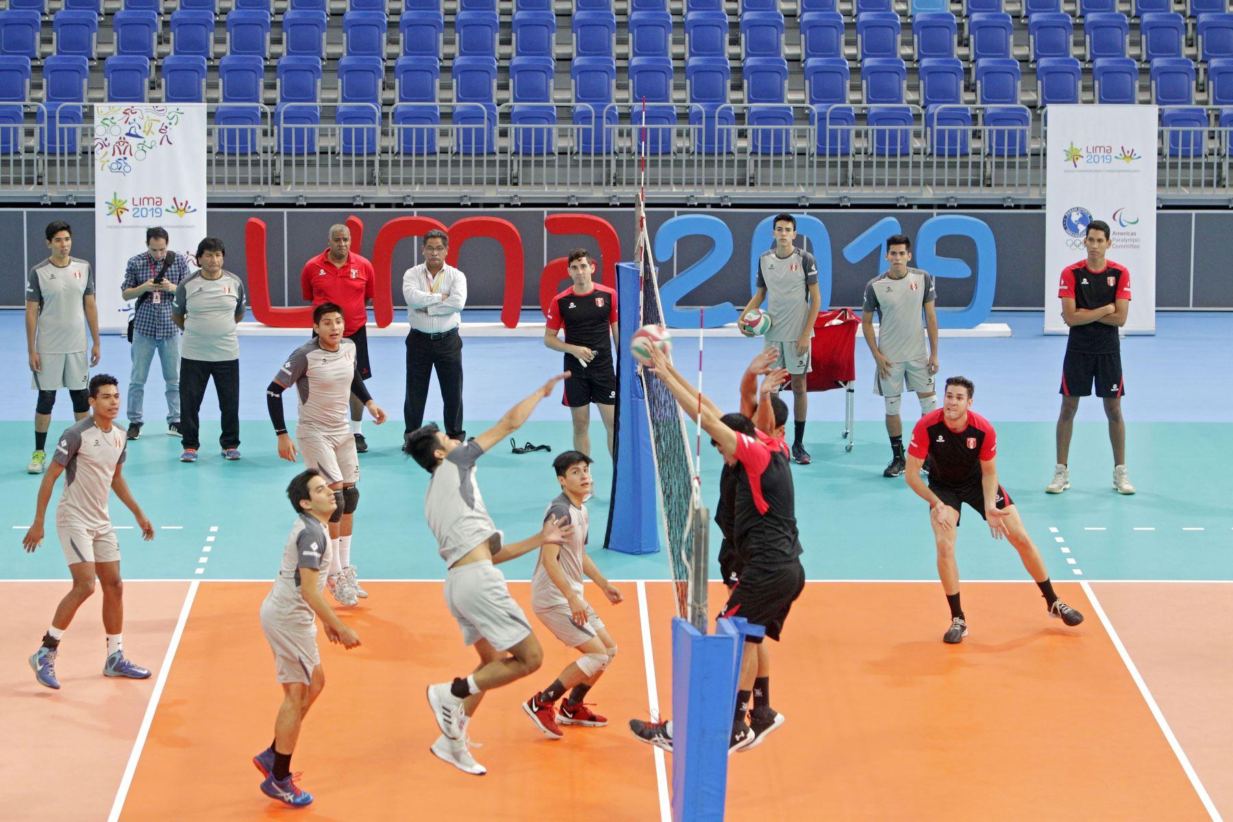 El Voleibol será el deporte estrella en el Polideportivo Callao durante el desarrollo de Juegos Panamericanos. Foto: ANDINA/Lima 2019