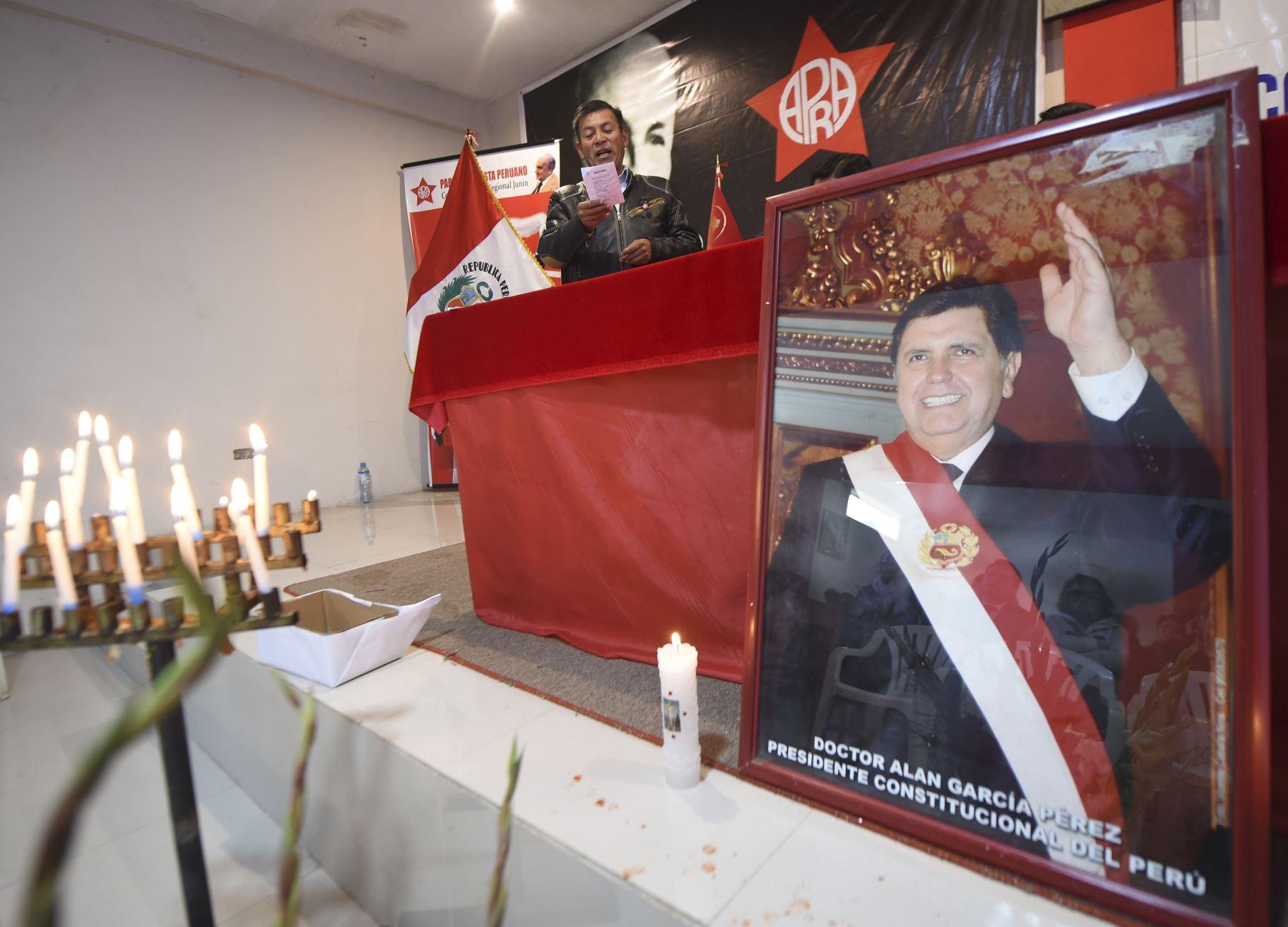 "Costa Rica expresa ""profundo pesar"" por muerte de Alan García. AFP"
