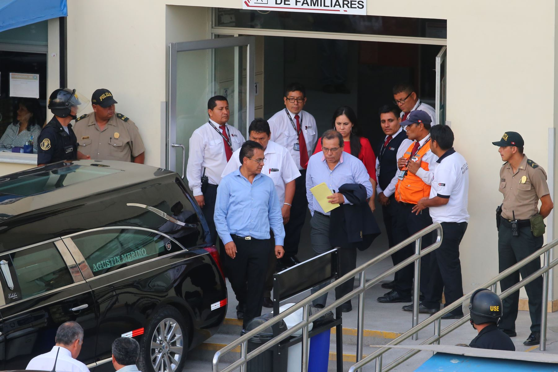 Apristas lamentan la muerte del expresidente Alan García. Foto: ANDINA/ Vidal Tarqui