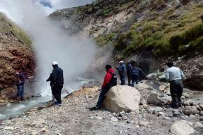 El géiser de Pinchollo se encuentra en el Geoparque Colca y Volcanes de Andagua. Foto: ANDINA/Difusión