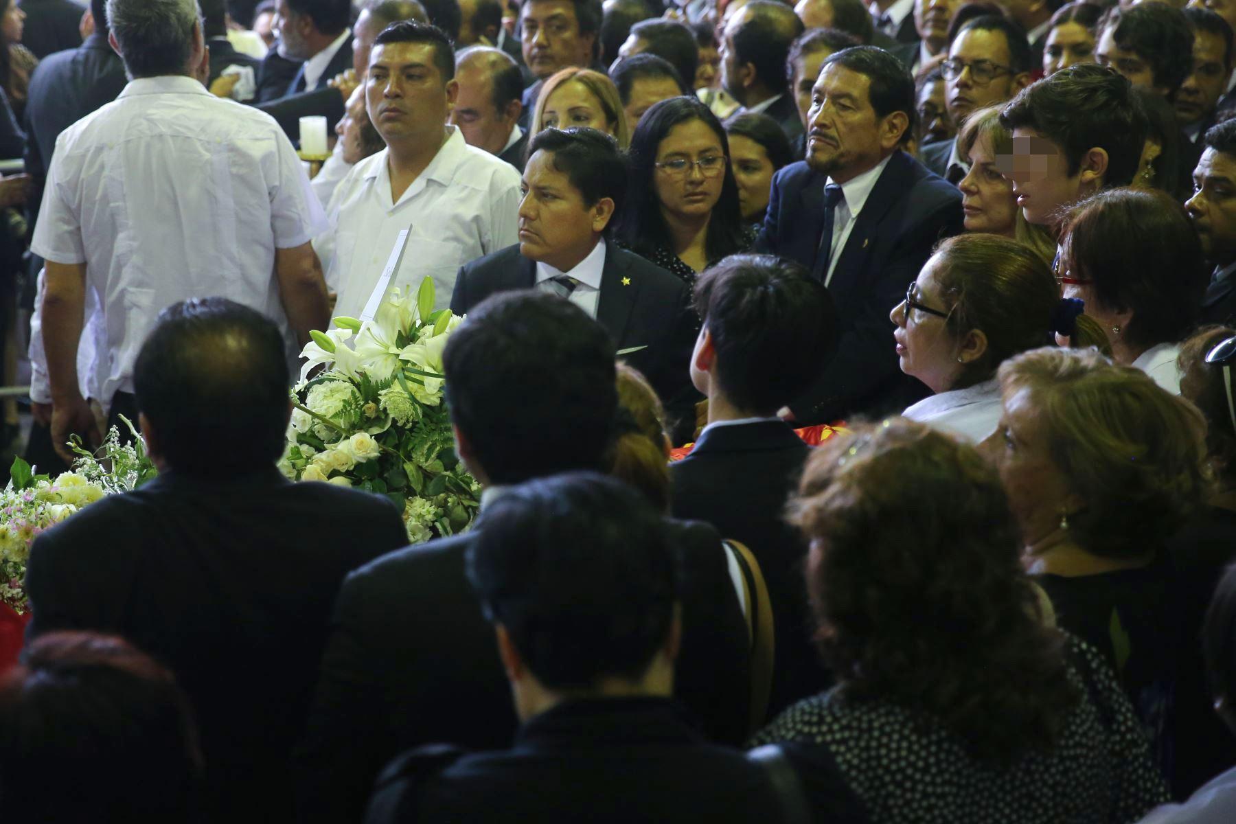 """Continúan las exequias fúnebres del expresidente Alan García en la """"Casa del Pueblo"""".  Foto: ANDINA Vidal Tarqui"""