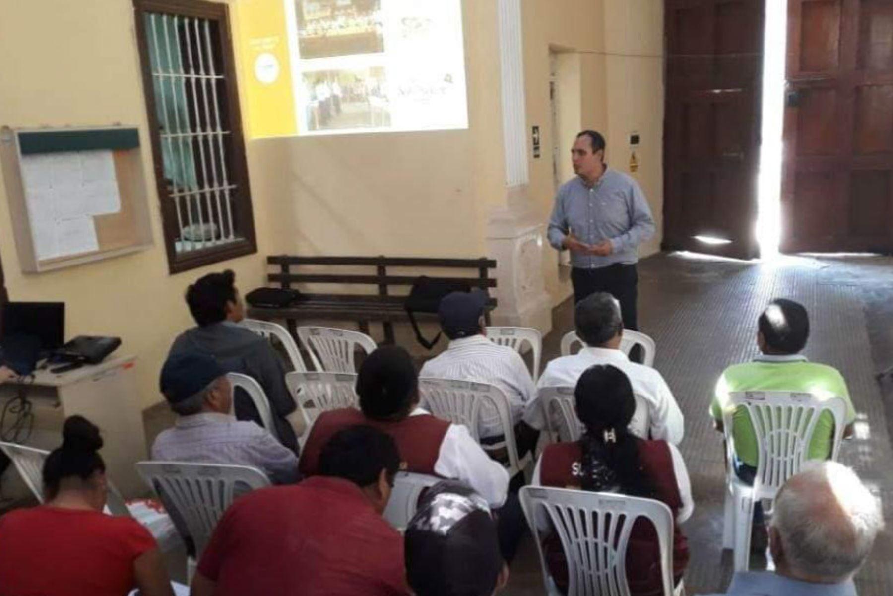 Productores de Piura conocen beneficios que brinda una marca colectiva. ANDINA/Difusión