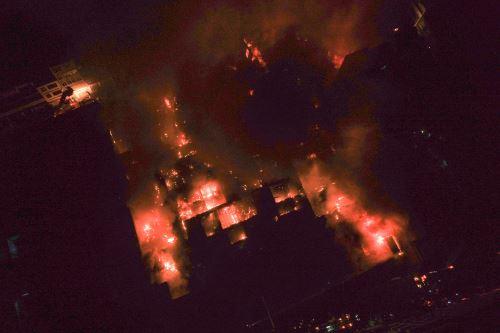 Mesa Redonda: Imágenes aéreas del incendio