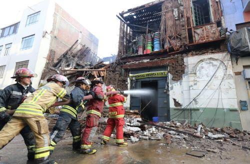 Mesa Redonda: Imágenes al día siguiente del devastador incendio