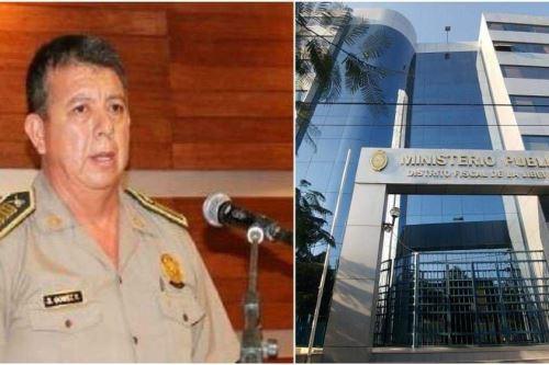 El coronel PNP Segundo Demetrio Gómez Reyna (52), quien es investigado por presuntas irregularidades en la administración de fondos de la Escuela de Educación Superior Técnico Profesional de Trujillo.