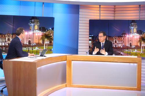 Presidente Vizcarra hace llamado a la unidad entre todos los peruanos