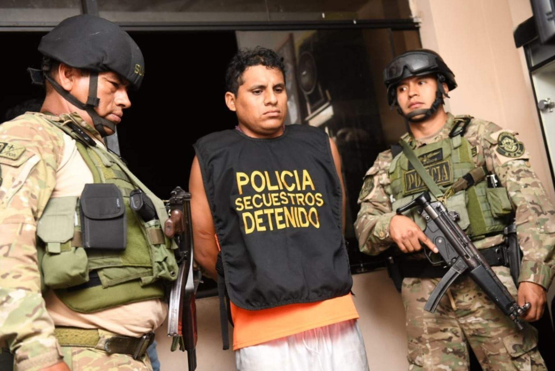 Gamarra: cae banda de extorsionadores que cobraban cupos a ambulantes. Foto: ANDINA/Difusión.