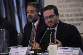 Ministro de Comercio Exterior y Turismo, Edgar Vásquez. ANDINA/Difusión