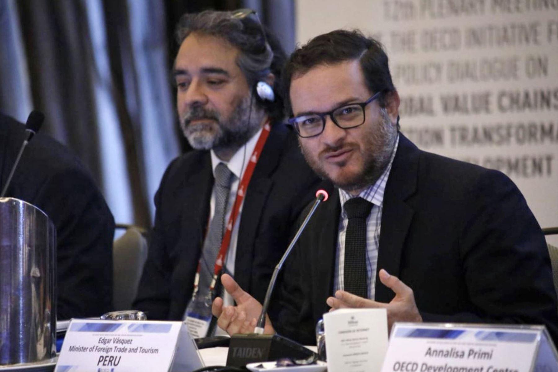 Ministro de Comercio Exterior y Turismo, Edgar Vásquez. Foto: Mincetur