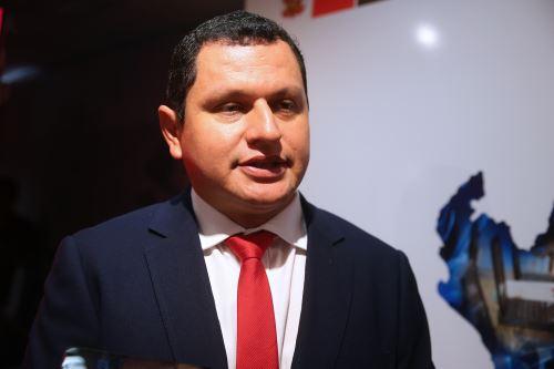 Servando García, gobernador de Piura y presidente de la Asamblea Nacional de Gobiernos Regionales. Foto: ANDINA/Vidal Tarqui.