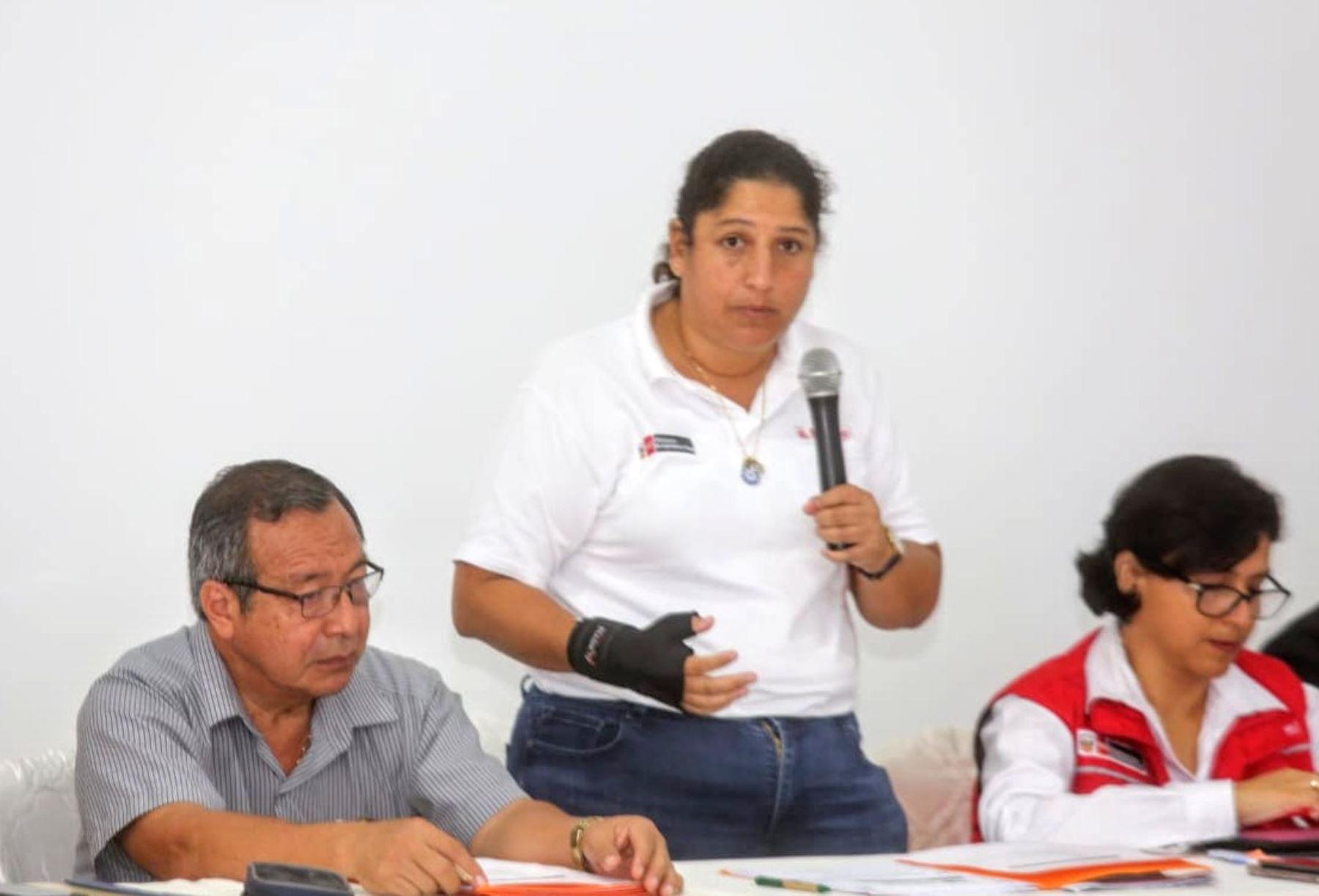 Ministra de Agricultura, Fabiola Muñoz, afirmó que no se permitirá que la minería ilegal migre a otras zonas de Madre de Dios. ANDINA/Difusión