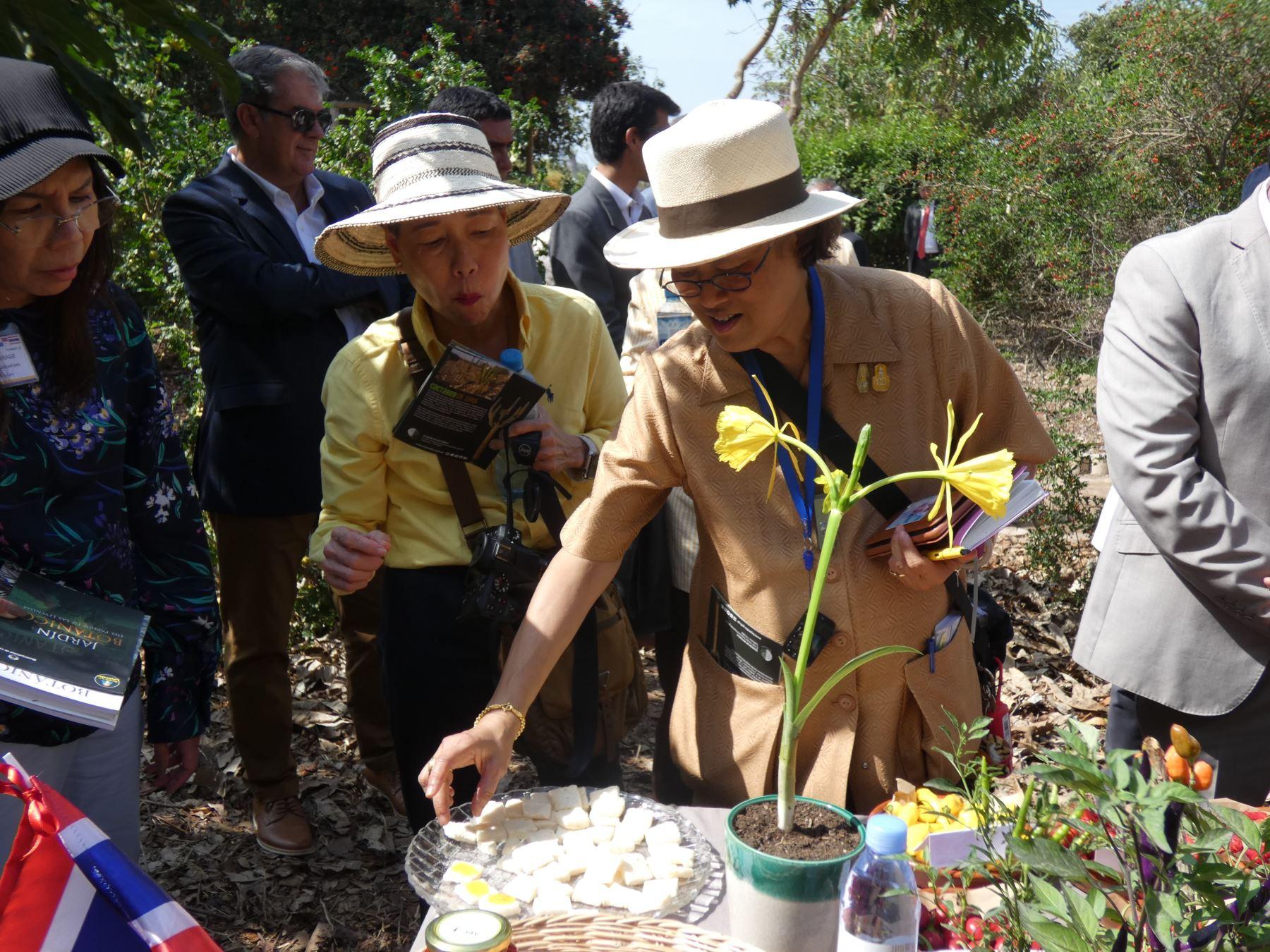 Thai Princess Maha Chakri Sirindhorn visits Peru | News