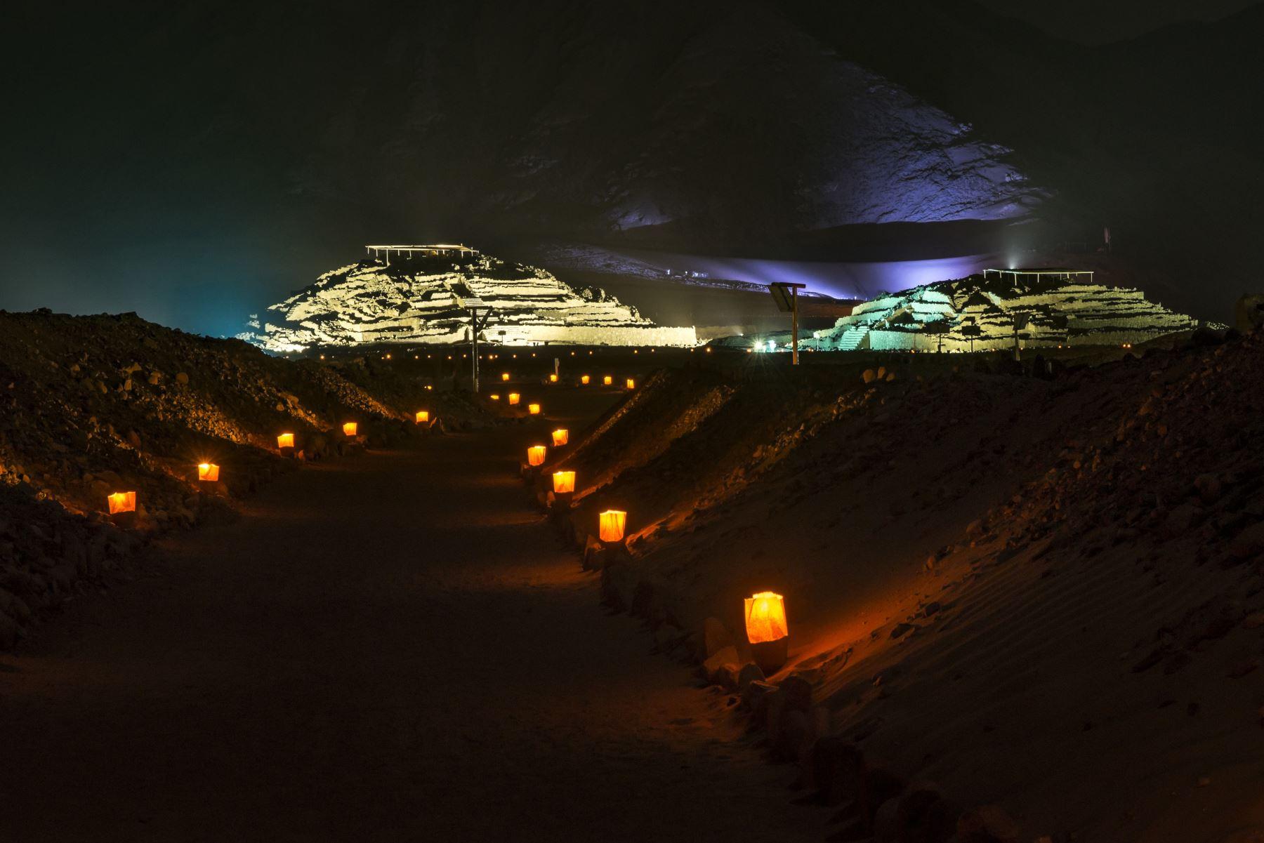 """La Ciudad Sagrada de Caral, considerada el centro de civilización más antiguo de toda América, fue declarado como bien cultural de """"valor universal excepcional"""" por el Comité del Patrimonio Mundial de la Unesco. ANDINA/archivo"""