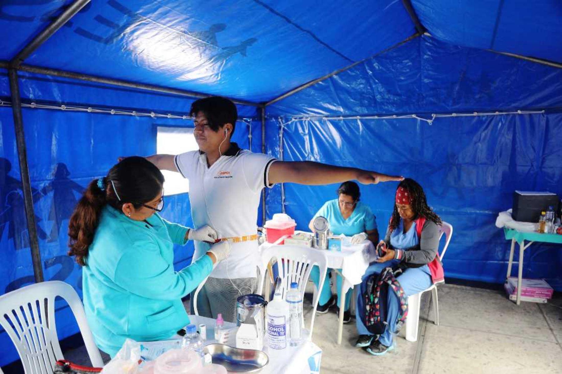EsSalud desarrolla talleres itinerantes para prevenir diabetes en entidades públicas. Foto: ANDINA/Difusión.