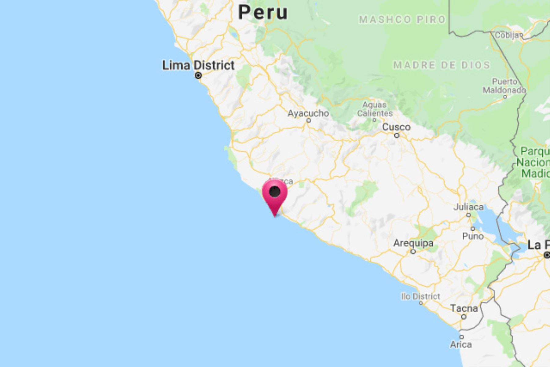 Las autoridades de Defensa Civil no han reportado, hasta el momento, daños personales ni materiales por el sismo de magnitud 4.5 en Arequipa.