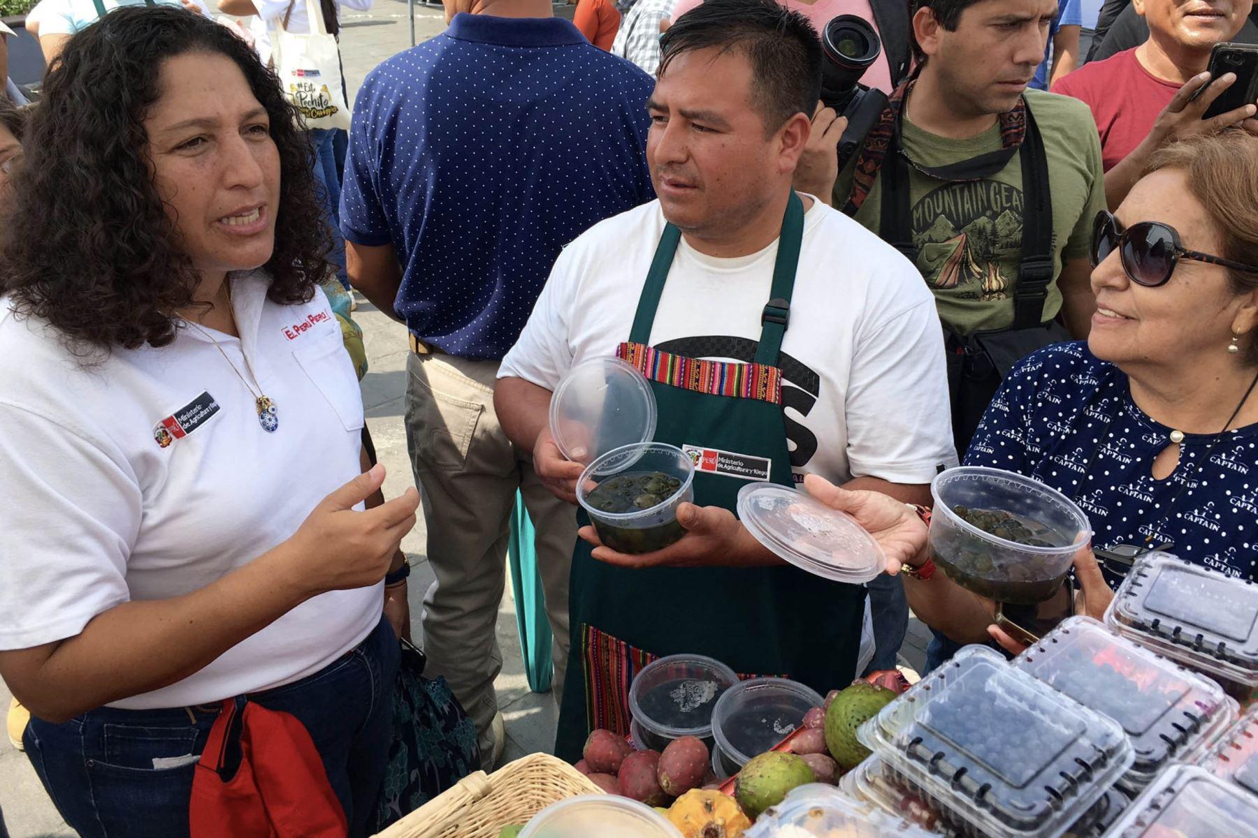 Ministra de Agricultura y Riego, Fabiola Muñoz. ANDINA/Difusión