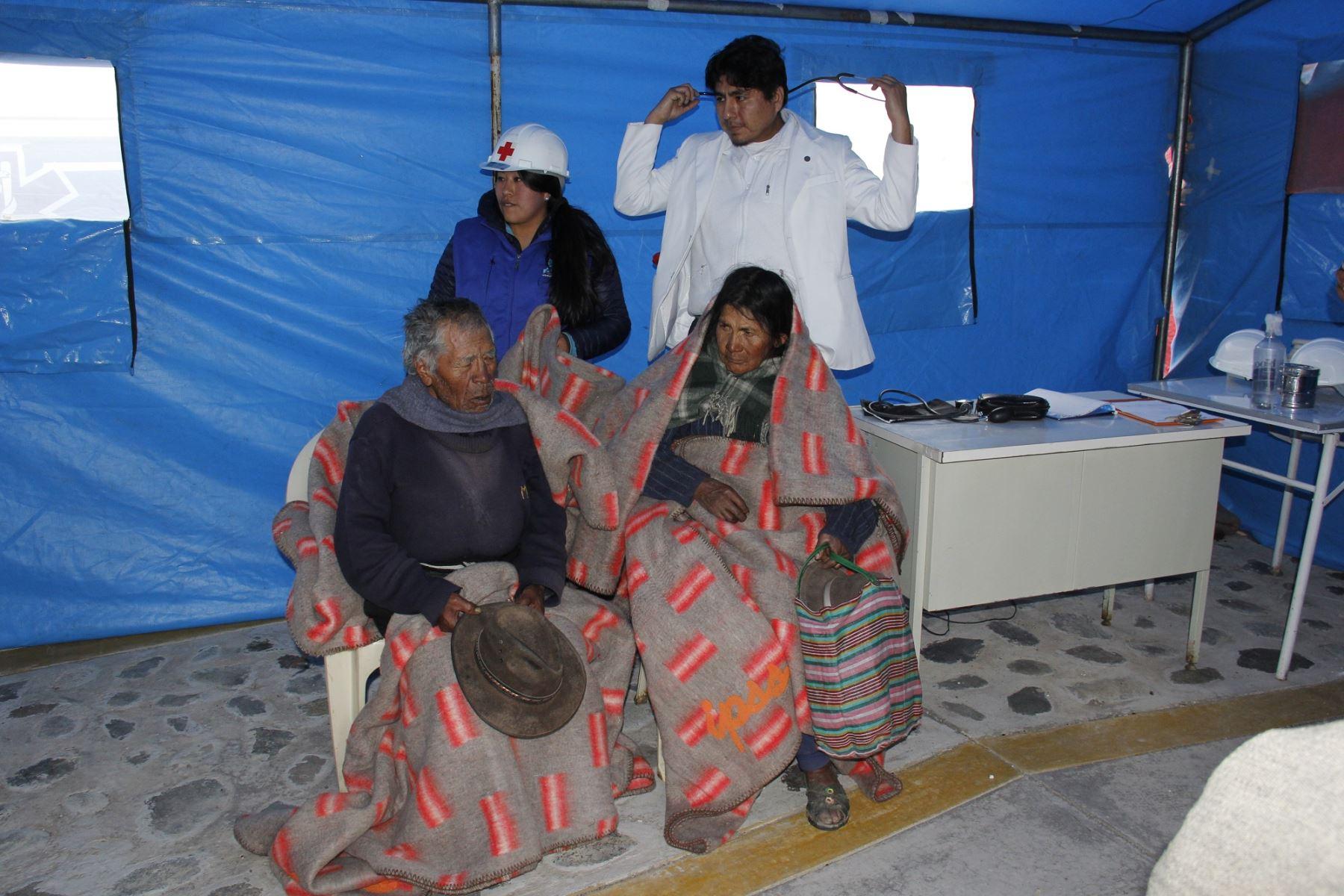 Así se prepara Puno para enfrentar la temporada de heladas y descenso de temperatura. ANDINA