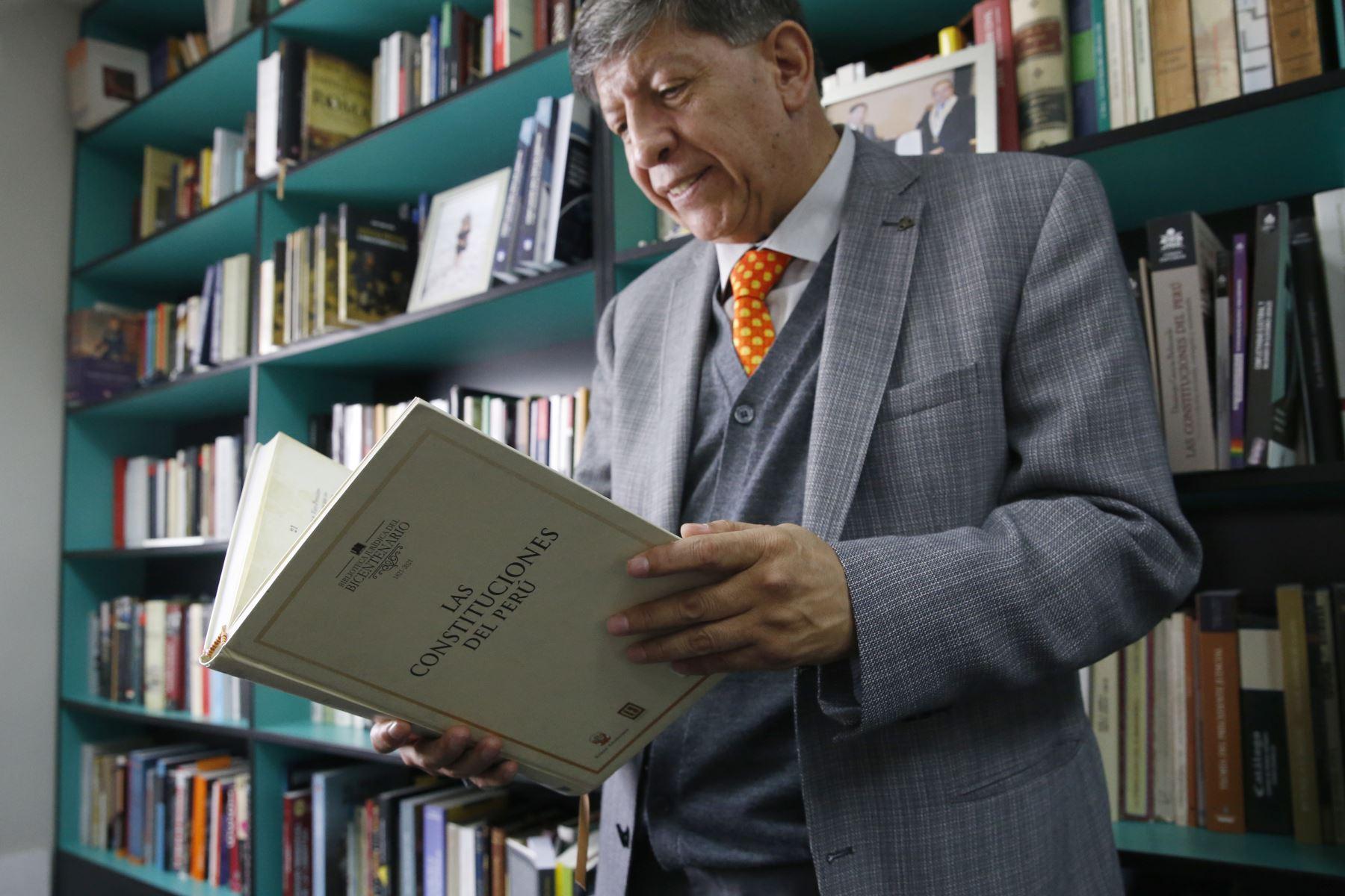 El TC rendirá homenaje a la memoria de Carlos Ramos Núñez. Foto: ANDINA/archivo.