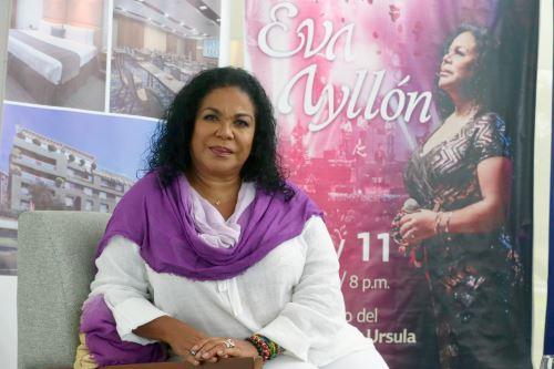Eva Ayllón será homenajeada por los Latin Grammy. ANDINA/Héctor Vinces
