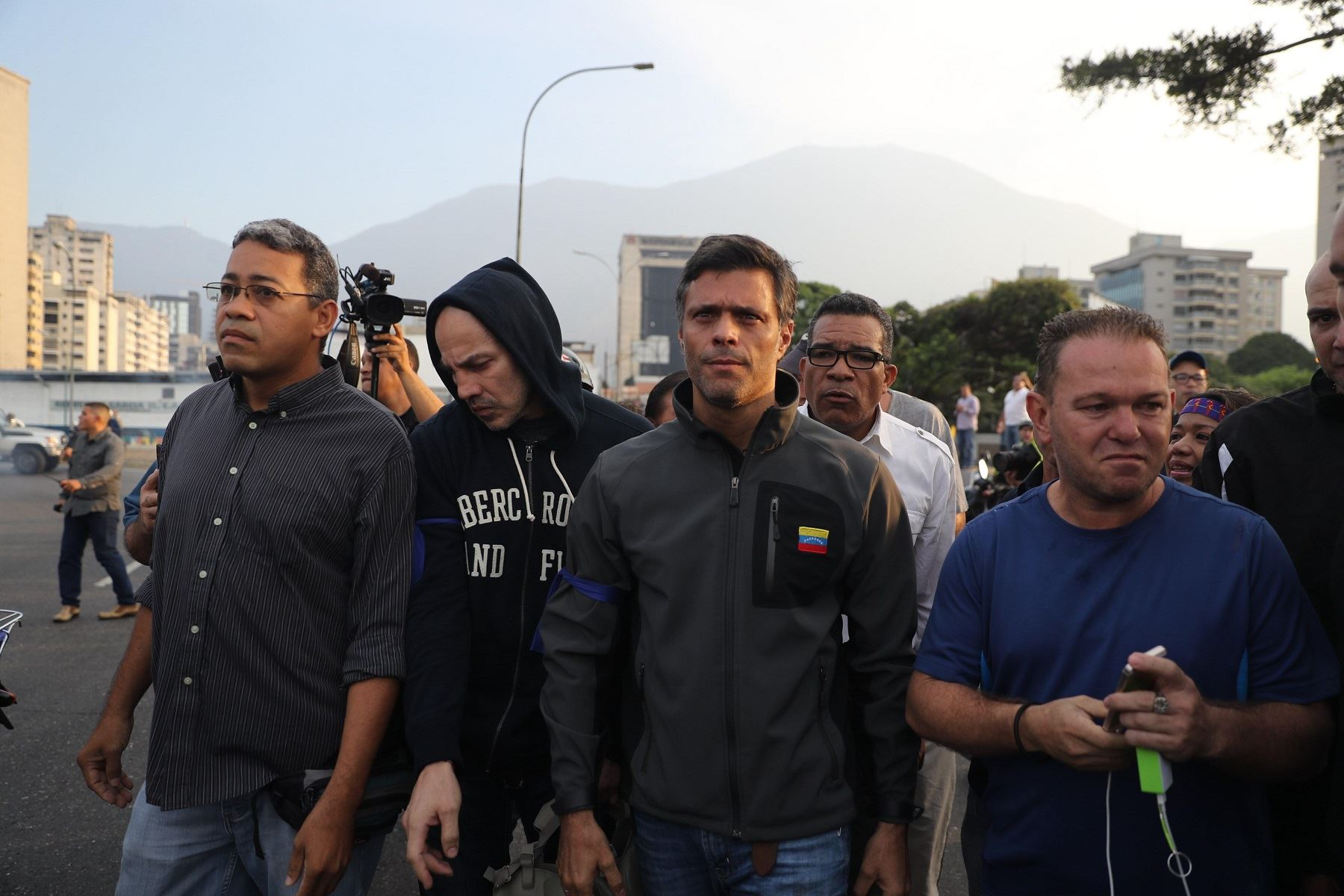 Leopoldo López. Foto: Efe.