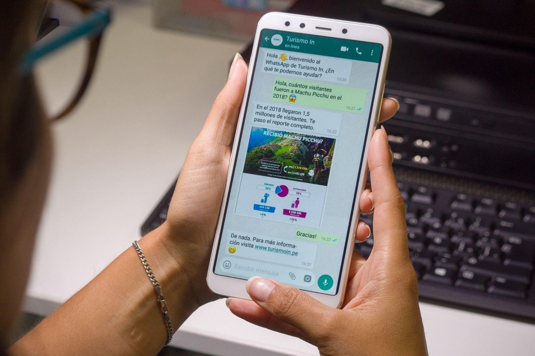 Promperú brindará información especializada en turismo a las pyme vinculadas a este sector vía WhatsApp.