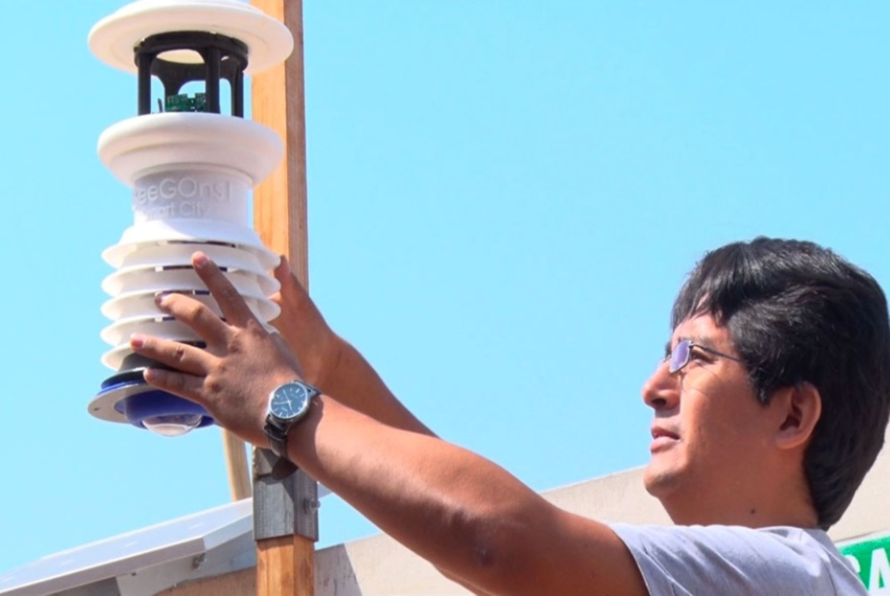 Jesús María: instalan sensores que medirán contaminación ambiental. Foto: ANDINA/archivo.