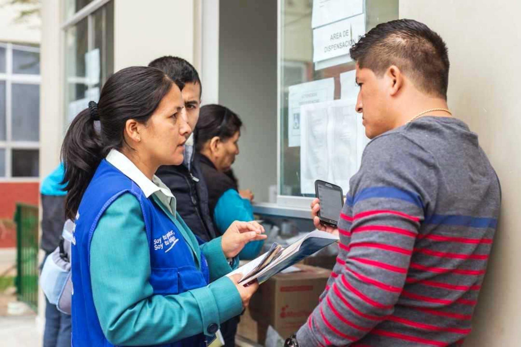 SIS promueve seguro para trabajadores independientes. Foto: ANDINA/Difusión.