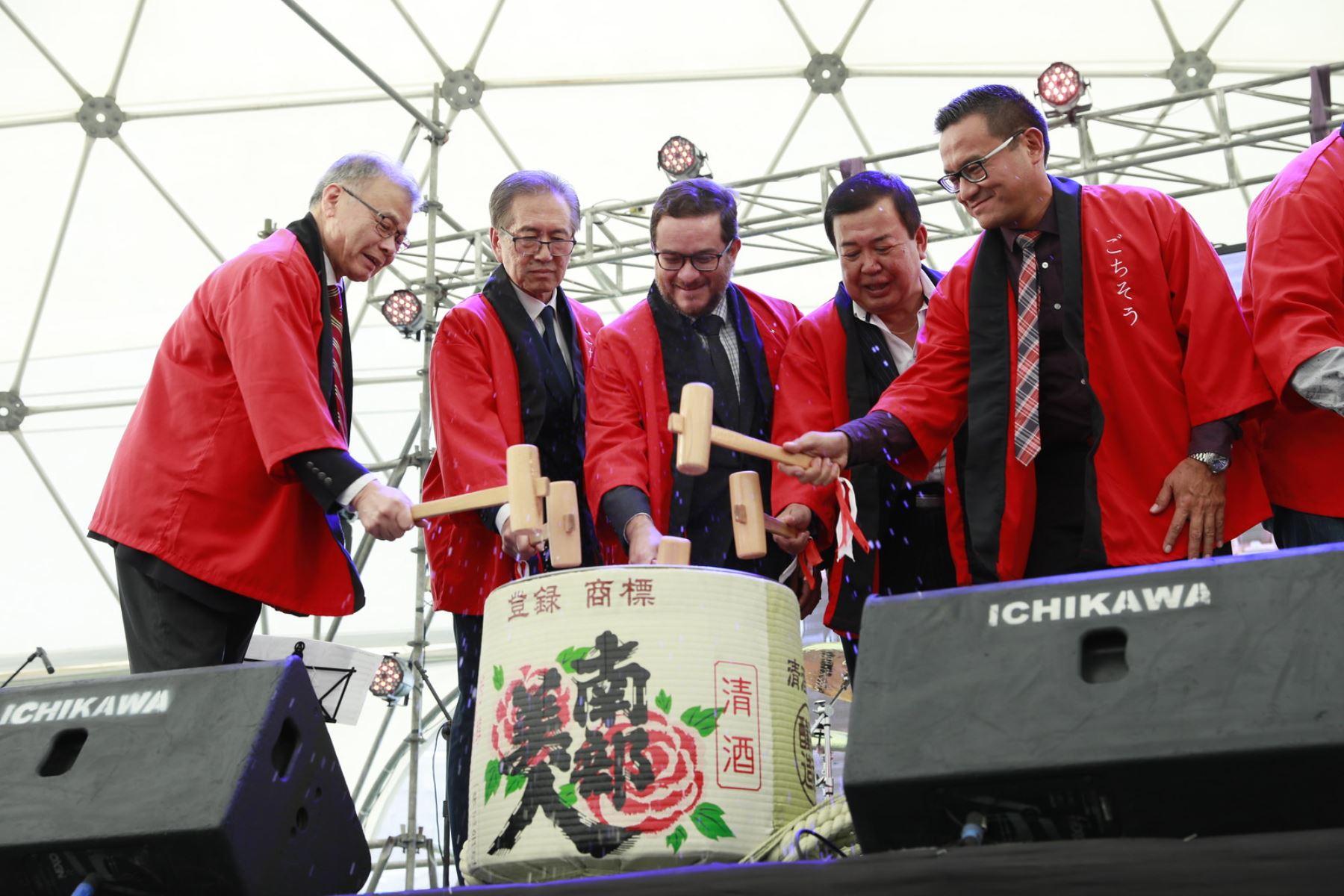 Ministro de Comercio Exterior y Turismo, Edgar Vásquez, destacó el buen momento de las relaciones comerciales entre el Perú y Japón