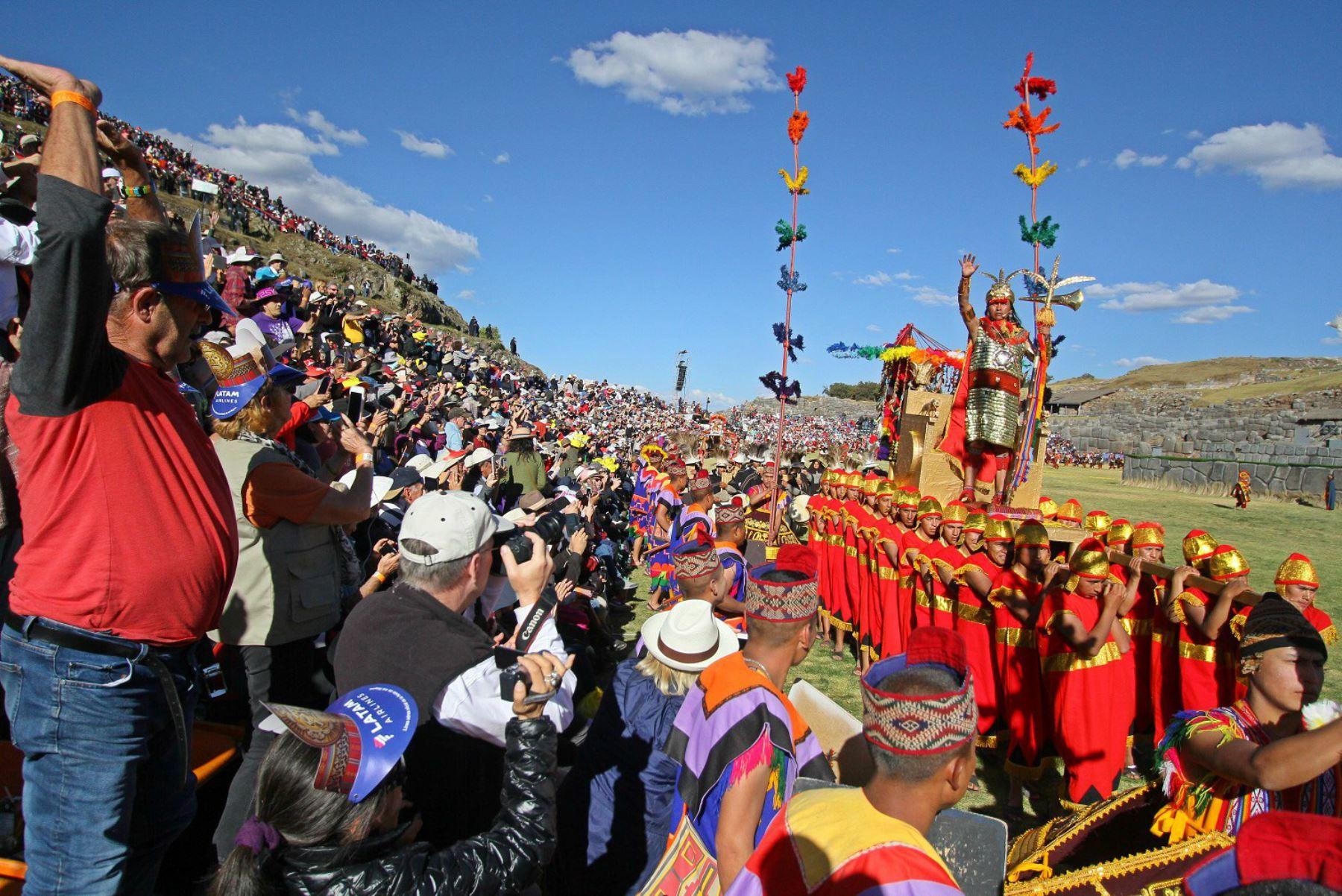 Turistas de EE. UU. y Japón son los más interesados en el Inti Raymi. Foto: ANDINA/Percy Hurtado Santillán.