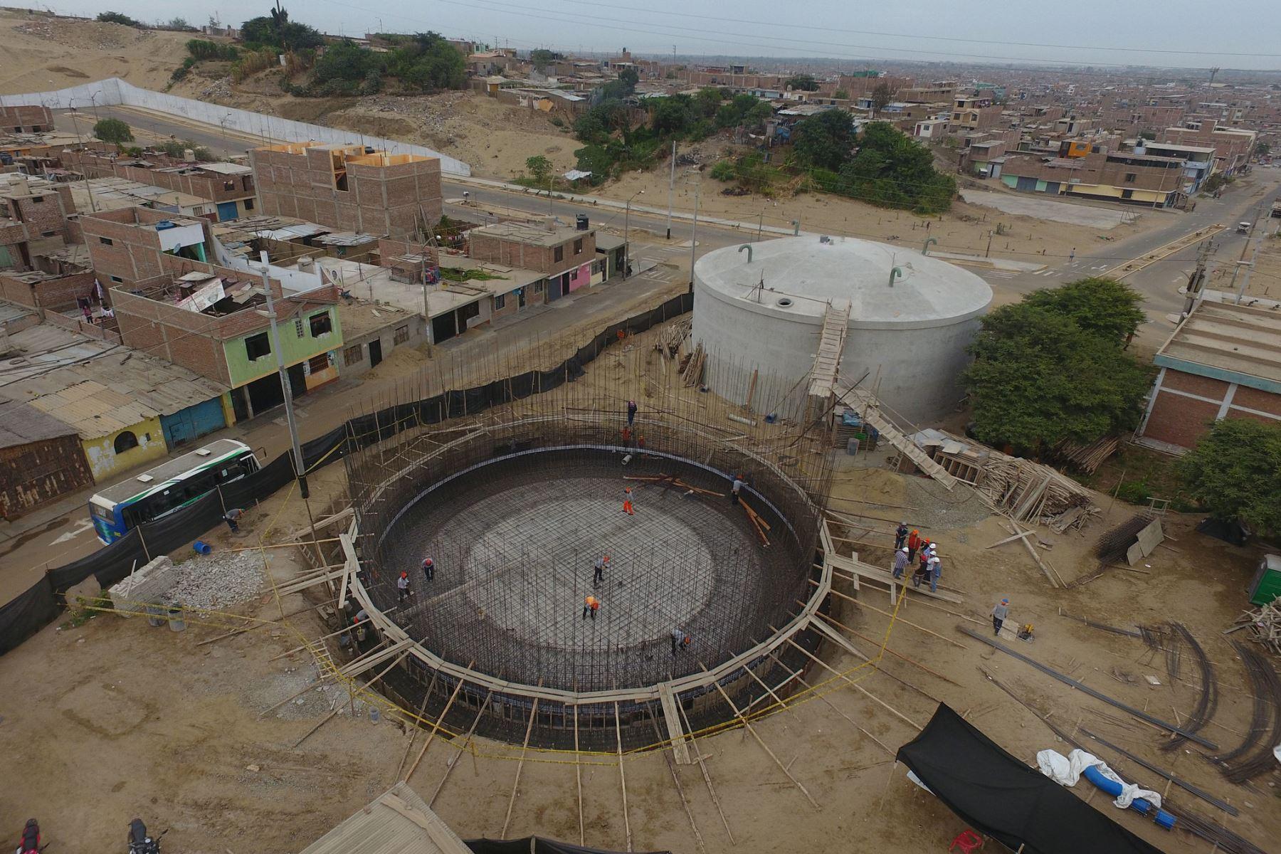 Proyecto del Ministerio de Vivienda dotará de agua potable de calidad a 4,224 familias de Trujillo. ANDINA/Difusión