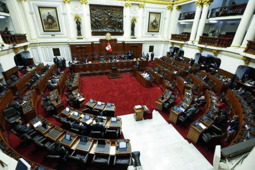 El presidente del Consejo de Ministros, Salvador del Solar, expone ante el Pleno del Congreso sobre el Plan Nacional por la Infancia. Foto: PCM