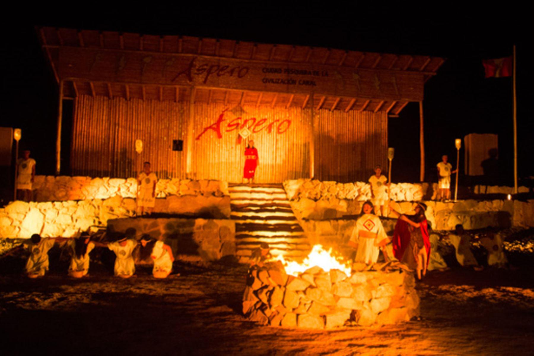 Áspero Raymi 2019: así fue la fiesta de la ciudad pesquera de la civilización Caral