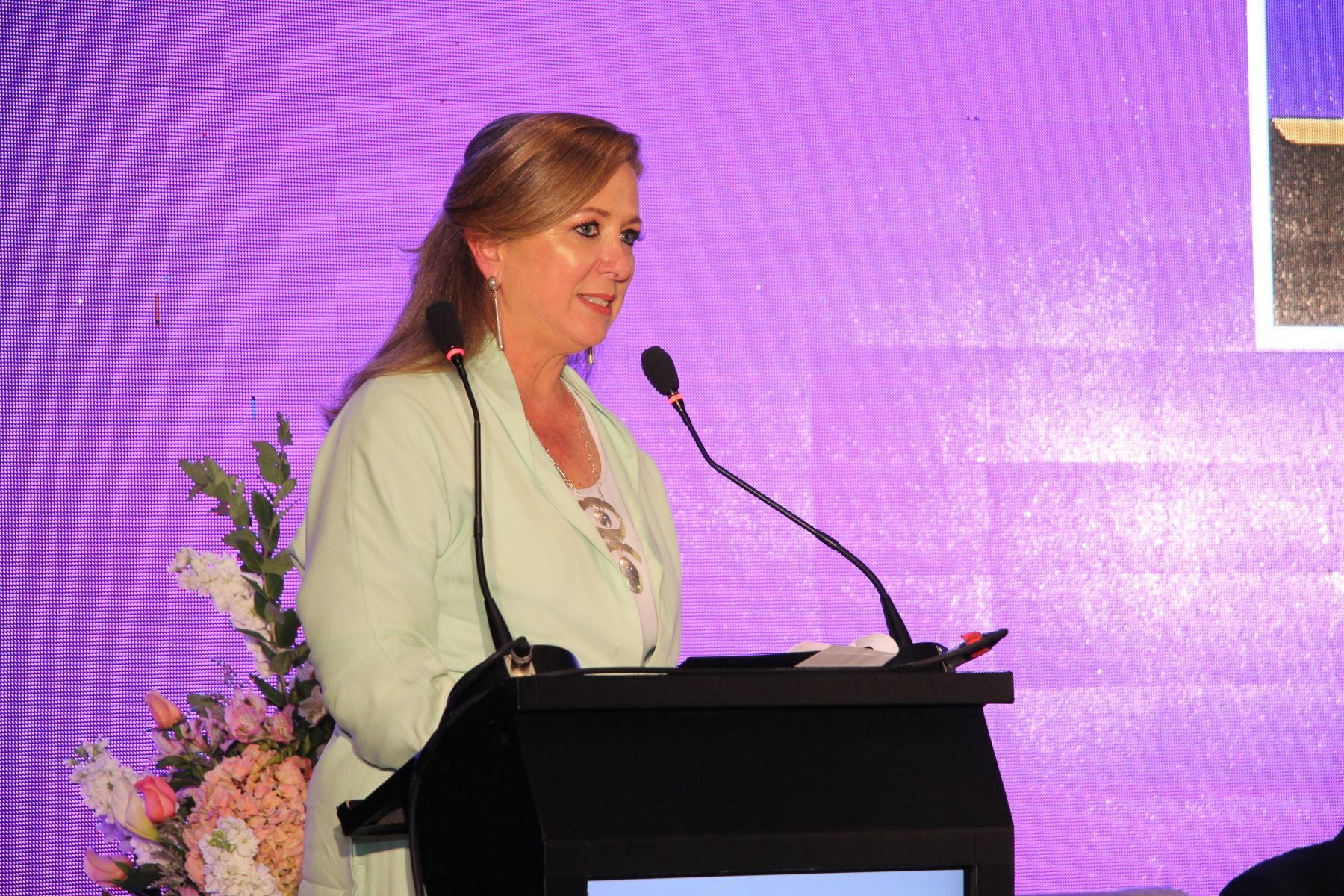 Presidenta de Confiep, María Isabel León. ANDINA/Difusión