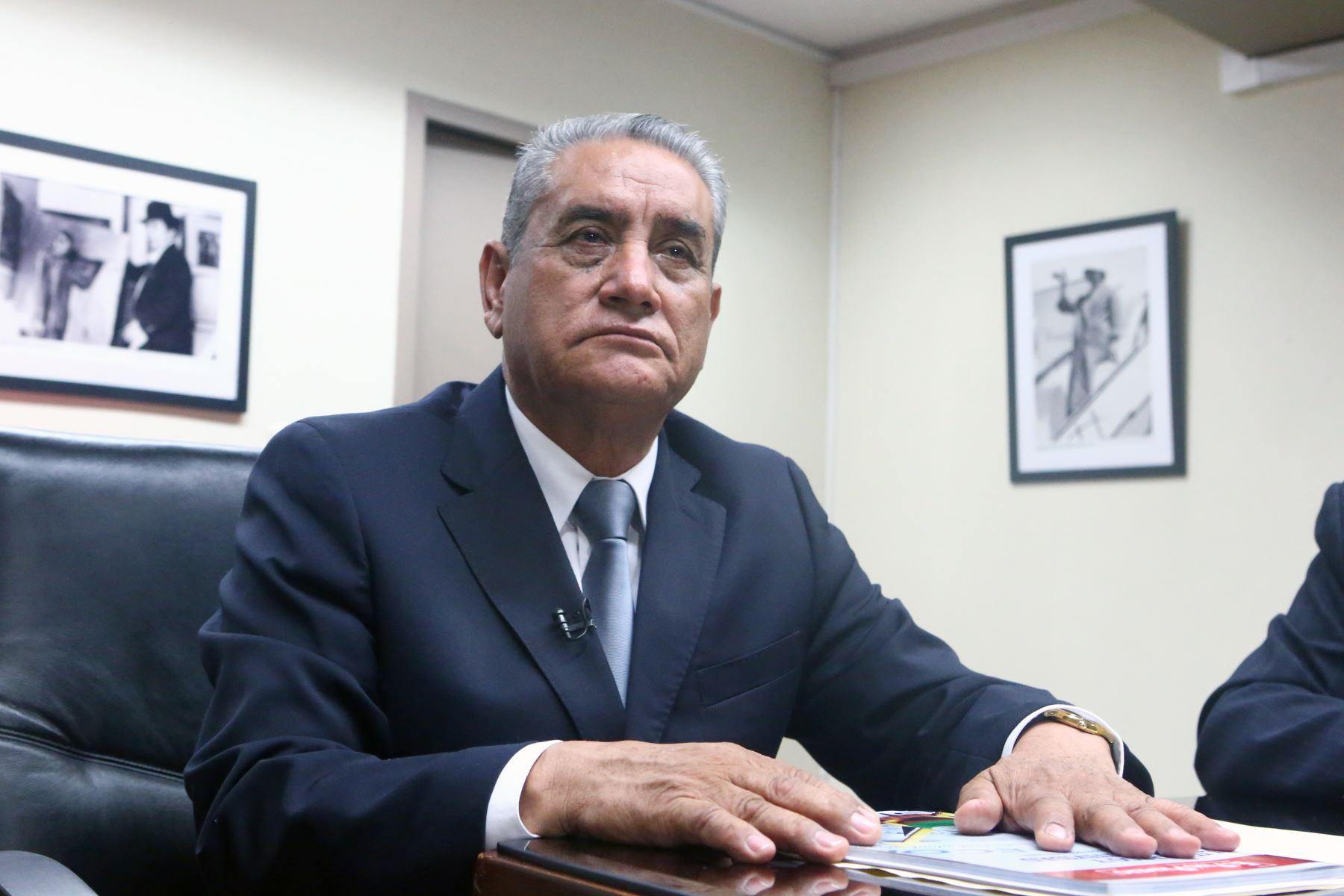 Amazonas impulsará proyectos turísticos para atraer más visitantes, anunció gobernador Oscar Altamirano. ANDINA/Héctor Vinces