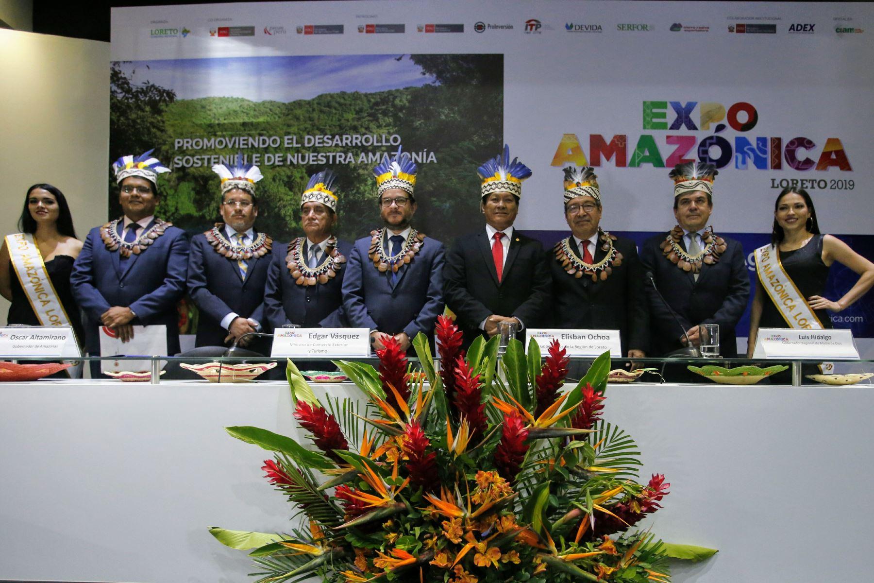 El Ministerio de Comercio Exterior y Turismo (Mincetur) declaró de Interés Nacional la realización de la Feria Expo Amazónica 2019, a llevarse a cabo del 15 al 18 de agosto de 2019, en la ciudad de Iquitos, provincia de Maynas, departamento de Loreto.ANDINA/archivo