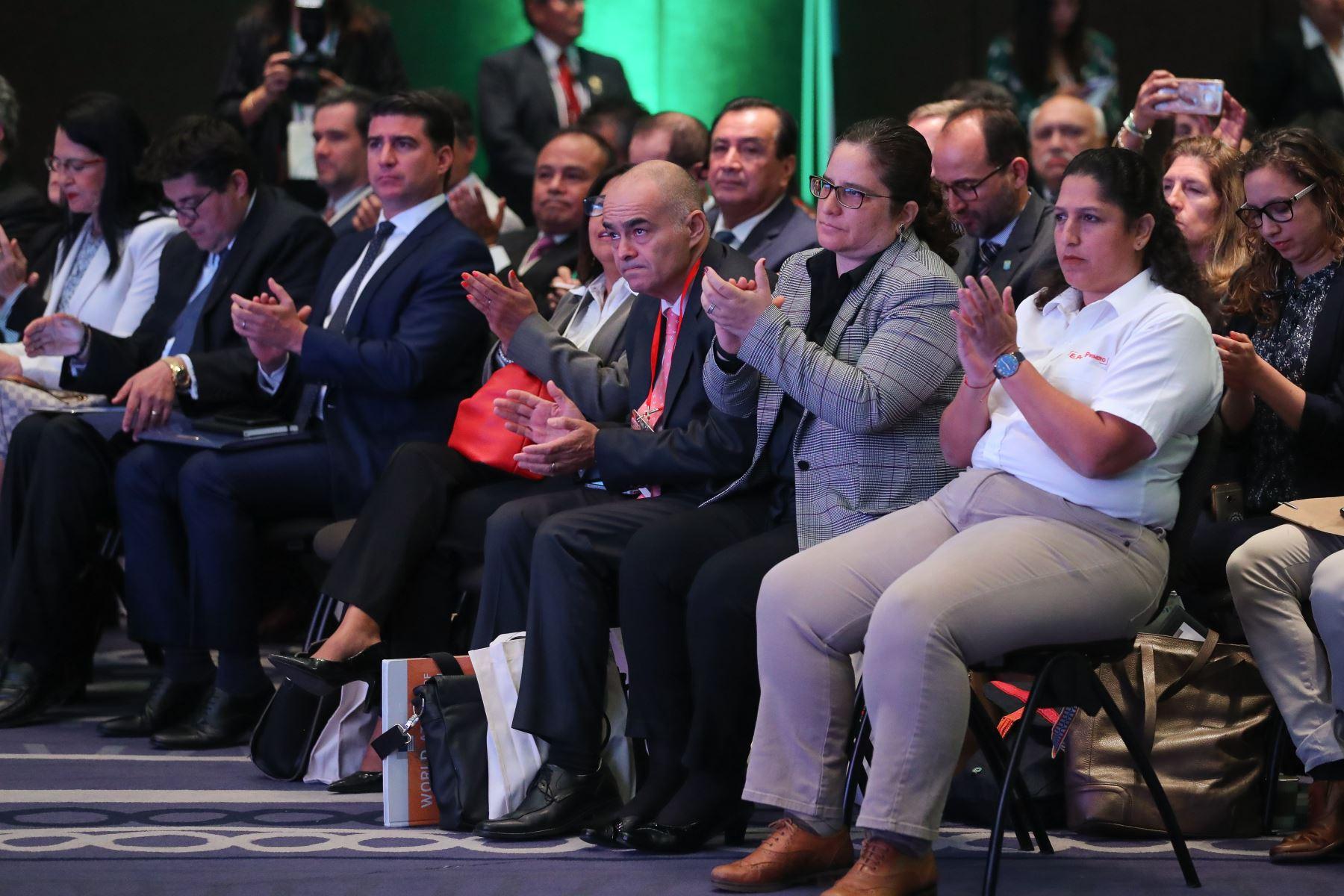 Presidente Vizcarra participa de la inauguración de la conferencia Good Growth. Foto: ANDINA/Prensa Presidencia