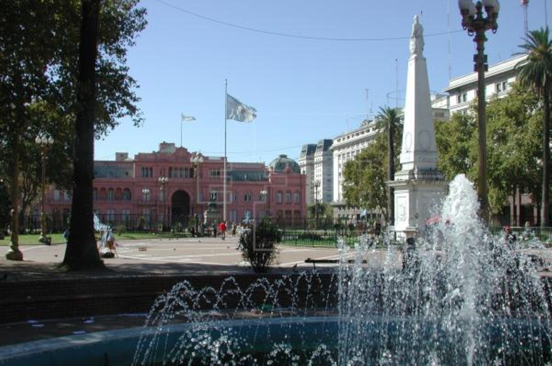 Casa Rosada. Foto: EFE/Archivo