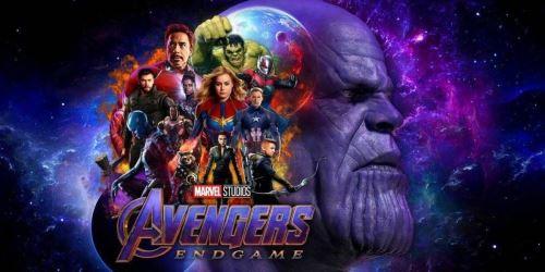Afiche promocional de Avengers: Endgame.