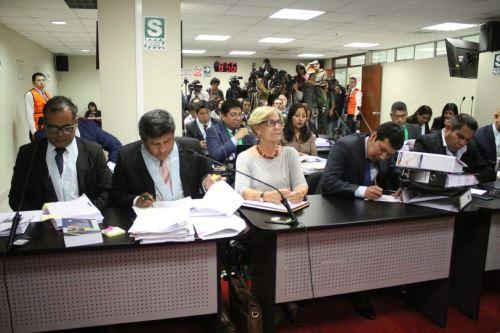Susana Villarán, participa en audiencia donde se resolverá pedido de prisión preventiva en su contra.